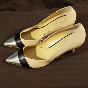 "Ivanka Trump pre owned Classic Pump with 3"" heel"